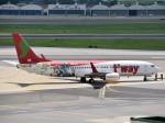 こじゆきさんが、金浦国際空港で撮影したティーウェイ航空 737-8HXの航空フォト(写真)