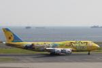 小牛田薫さんが、羽田空港で撮影した全日空 747-481(D)の航空フォト(写真)