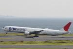 小牛田薫さんが、羽田空港で撮影した日本航空 777-346の航空フォト(写真)