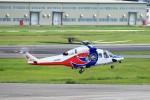 T.Sazenさんが、名古屋飛行場で撮影した広島県防災航空隊 AW139の航空フォト(飛行機 写真・画像)