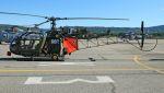 C.Hiranoさんが、ル・リュク=ル・カネ陸軍基地で撮影したINFOSSI Gérard SE-3130 Alouette IIの航空フォト(写真)