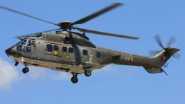 C.Hiranoさんが、ル・リュク=ル・カネ陸軍基地で撮影したスイス空軍 AS532UL Cougarの航空フォト(写真)
