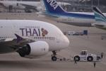 Koenig117さんが、関西国際空港で撮影したタイ国際航空 A380-841の航空フォト(写真)
