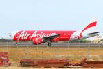 KIMISTONERさんが、台湾桃園国際空港で撮影したエアアジア A320-216の航空フォト(写真)