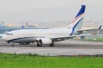 KIMISTONERさんが、台北松山空港で撮影した現代自動車 737-7GE(BBJ)の航空フォト(写真)