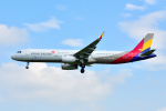 saoya_saodakeさんが、成田国際空港で撮影したアシアナ航空 A321-231の航空フォト(写真)