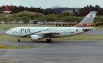 新城良彦さんが、成田国際空港で撮影したパキスタン国際航空 A310-325/ETの航空フォト(写真)