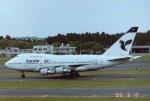 新城良彦さんが、成田国際空港で撮影したイラン航空 747SP-86の航空フォト(写真)