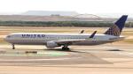 誘喜さんが、マドリード・バラハス国際空港で撮影したユナイテッド航空 767-322/ERの航空フォト(写真)