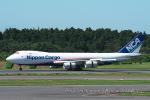 kanadeさんが、成田国際空港で撮影した日本貨物航空 747-8KZF/SCDの航空フォト(写真)
