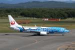 ATOMさんが、新千歳空港で撮影した日本トランスオーシャン航空 737-8Q3の航空フォト(写真)