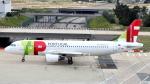 誘喜さんが、パリ オルリー空港で撮影したTAP ポルトガル航空 A320-214の航空フォト(写真)