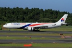 ウッディーさんが、成田国際空港で撮影したマレーシア航空 A330-323Xの航空フォト(写真)