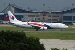 resocha747さんが、台湾桃園国際空港で撮影したマレーシア航空 737-8H6の航空フォト(写真)