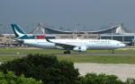 resocha747さんが、台湾桃園国際空港で撮影したキャセイパシフィック航空 A330-343Xの航空フォト(写真)