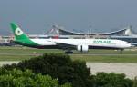 resocha747さんが、台湾桃園国際空港で撮影したエバー航空 777-35E/ERの航空フォト(写真)