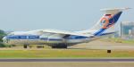 KIMISTONERさんが、台湾桃園国際空港で撮影したヴォルガ・ドニエプル航空 Il-76TDの航空フォト(写真)