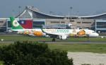 resocha747さんが、台湾桃園国際空港で撮影したエバー航空 A321-211の航空フォト(写真)