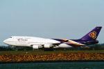 菊池 正人さんが、シドニー国際空港で撮影したタイ国際航空 747-4D7の航空フォト(写真)