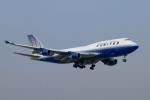 isiさんが、成田国際空港で撮影したユナイテッド航空 747-422の航空フォト(写真)