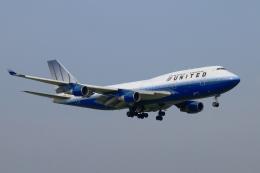 isiさんが、成田国際空港で撮影したユナイテッド航空 747-422の航空フォト(飛行機 写真・画像)