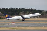 prado120さんが、成田国際空港で撮影したルフトハンザドイツ航空 A340-313Xの航空フォト(写真)