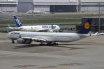 prado120さんが、羽田空港で撮影したルフトハンザドイツ航空 A340-642Xの航空フォト(写真)