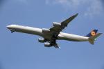 prado120さんが、成田国際空港で撮影したルフトハンザドイツ航空 A340-642Xの航空フォト(写真)