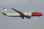 ★azusa★さんが、シンガポール・チャンギ国際空港で撮影したノルウェー・エアUK 787-9の航空フォト(写真)