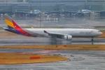 Tomo_lgmさんが、羽田空港で撮影したアシアナ航空 A330-323Xの航空フォト(写真)