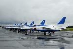 せせらぎさんが、浜松基地で撮影した航空自衛隊 T-4の航空フォト(写真)