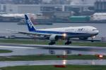 みぐさんが、羽田空港で撮影した全日空 777-381の航空フォト(写真)
