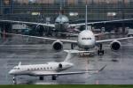 みぐさんが、羽田空港で撮影したアメリカ個人所有 G500/G550 (G-V)の航空フォト(写真)