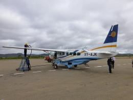 ケーキさんが、ヘホ空港で撮影したミャンマー・ナショナル・エアウェイズ 208B Caravan Iの航空フォト(飛行機 写真・画像)