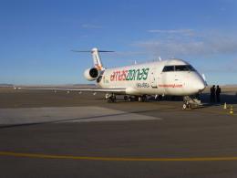 ケーキさんが、ジョヤ・アンディーナ空港で撮影したアマスゾナス CL-600-2B19(CRJ-200LR)の航空フォト(飛行機 写真・画像)
