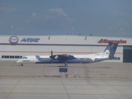 ケーキさんが、トロント・ピアソン国際空港で撮影したワールドワイド・エアクラフト・フェリーイング DHC-8-402Q Dash 8の航空フォト(飛行機 写真・画像)