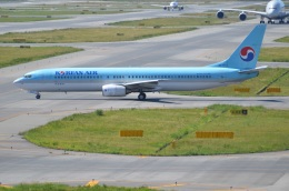 amagoさんが、関西国際空港で撮影した大韓航空 737-9B5の航空フォト(写真)