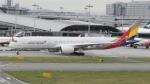 @たかひろさんが、関西国際空港で撮影したアシアナ航空 A350-941XWBの航空フォト(写真)