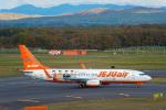 Cygnus00さんが、新千歳空港で撮影したチェジュ航空 737-8ASの航空フォト(写真)
