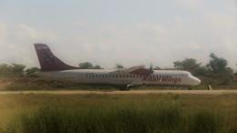 westtowerさんが、マンダレー国際空港で撮影したアジアン・ウィングス ATR-72-500 (ATR-72-212A)の航空フォト(飛行機 写真・画像)