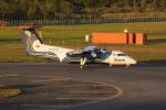 はるかのパパさんが、新千歳空港で撮影したオーロラ DHC-8-200Q Dash 8の航空フォト(写真)