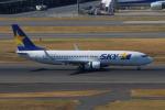 やつはしさんが、羽田空港で撮影したスカイマーク 737-8FZの航空フォト(写真)