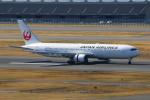 やつはしさんが、羽田空港で撮影した日本航空 767-346/ERの航空フォト(写真)