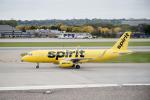 eagletさんが、ミネアポリス・セントポール国際空港で撮影したスピリット航空 A320-232の航空フォト(写真)