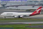 Chofu Spotter Ariaさんが、羽田空港で撮影したカンタス航空 747-438/ERの航空フォト(写真)