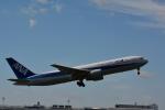 HS888さんが、鹿児島空港で撮影した全日空 767-381の航空フォト(写真)