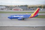 eagletさんが、ミネアポリス・セントポール国際空港で撮影したサウスウェスト航空 737-7H4の航空フォト(写真)