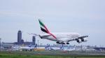 てつさんが、成田国際空港で撮影したエミレーツ航空 A380-861の航空フォト(写真)