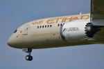 saoya_saodakeさんが、成田国際空港で撮影したエティハド航空 787-9の航空フォト(写真)