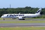 ウッディーさんが、成田国際空港で撮影したフィンエアー A350-941XWBの航空フォト(写真)